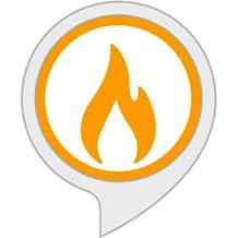 Einschlafgeräusche: Kaminfeuer