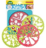 Lena 65775 - Mandala Designer, Rahmen mit 4 Schablonen