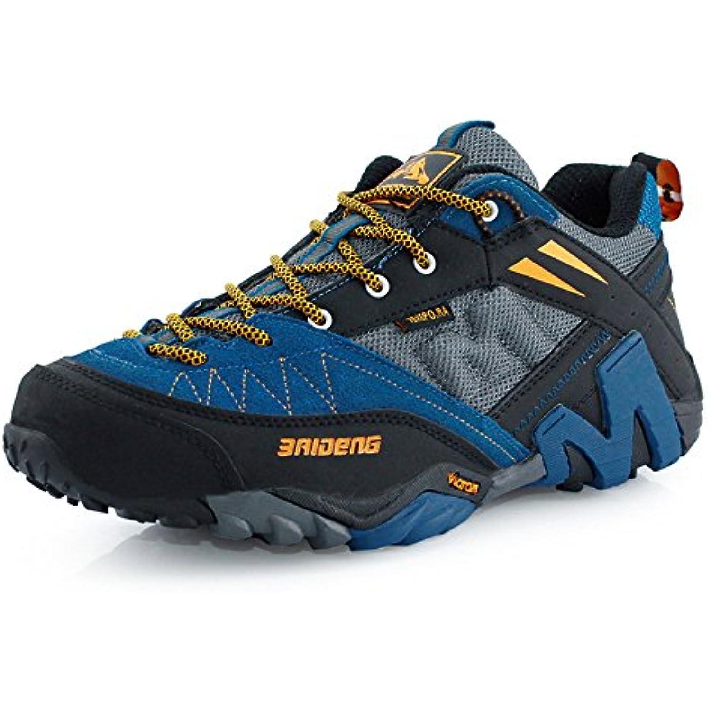 Chaussures de course unisexes Chaussures de randonnée anti-dérapantes anti-dérapantes randonnée et anti-usure en cuir de vachette de couche... - B07K2NPRRH - f0423b