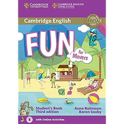 Fun for Movers Student's Book with Online Activities Third Edition - 9781107444782 [con audio descargable]
