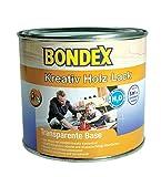 Bondex Kreativ Holz-Lack / farblos / transparente Base / 500 ml / zum Mixen mit Bondex Kreativ Konzentrat /