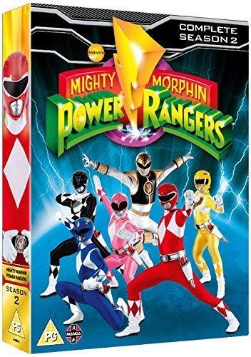 Mighty Morphin Power Rangers Complete Season 2 Collection [DVD] [UK Import] (Power Rangers Dvd-set)