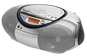 Sony Radio-Cassette CD CFD-S35CPS MP3 Couleur Silver