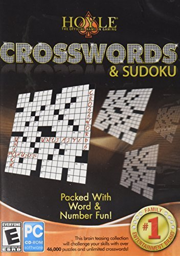 Hoyle Crosswords & Sudoku Packed with Word & Number Fun by Encore