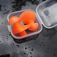 elegantstunning Umweltfreundliche Silikon Spirale Wasserdicht Staubdicht Ohrstöpsel in Box Wasser Sport Schwimmen... preisvergleich bei billige-tabletten.eu