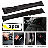 #1: AREO 115 Car Seat Belt Padding Automobiles Interior Accessories PU Sponge Safety Belt Covers for Car Car-Black Color Two Pc Cover