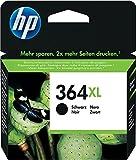HP 364XL CN684EE Cartuccia Originale per Stampanti a Getto di Inchiostro Photosmart B210c, B110c, B110e, B8550, 7520, Deskjet 3520, 3522, 3524, Nero