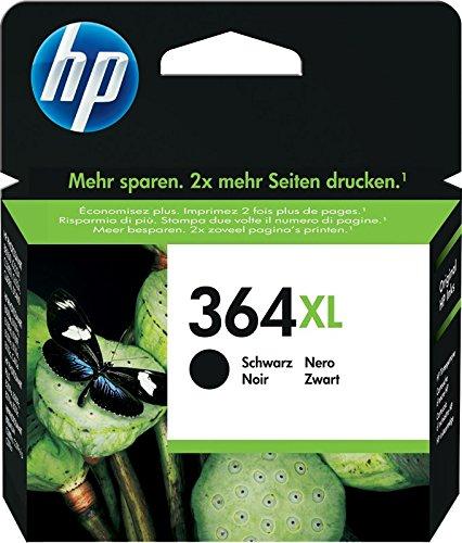 Hp 364xl cn684ee cartuccia originale per stampanti a getto di inchiostro hp photosmart b210c, b110c, b110e, b8550, 7520, deskjet 3520, 3522, 3524, nero