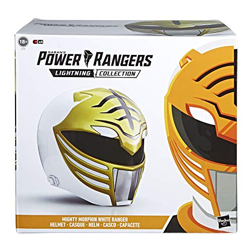 Power Rangers Helm Ranger weiß Mighty Morphin (Hasbro E6781EU4)