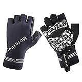 Outdoor-Handschuhe, Halbfinger-Sporthandschuhe, Fitness-Bikes, vierfarbige optionale Handschuhe,A_M