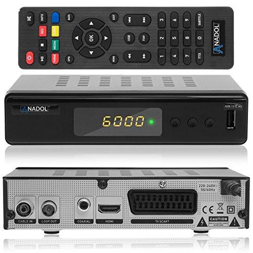 Anadol ADX 111c HD digitaler Full HD Kabel-Receiver