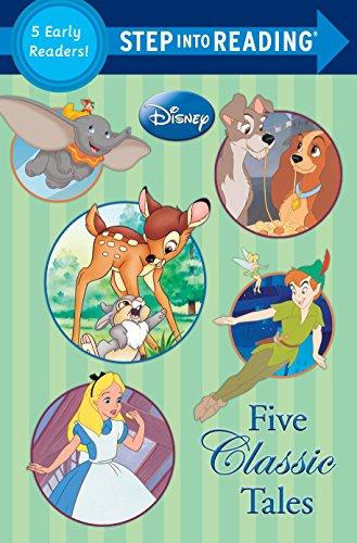 Five Classic Tales (Disney Classics) (Step into Reading)
