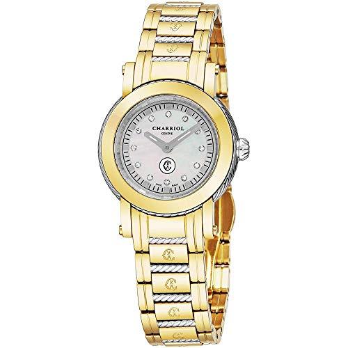 Charriol Women's Parisi 27mm Steel Bracelet Quartz Watch P28Y2P.28Y2.006