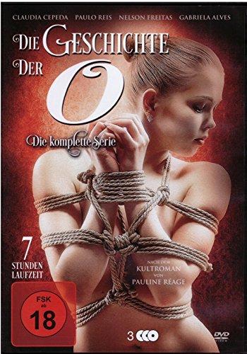 Preisvergleich Produktbild DIE GESCHICHTE DER O. - Die komplette Serie nach dem Roman von PAULINE REAGE DVD Box Edition
