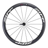 Zipp 303 Firecrest Carbon Clincher 77 Front 18 Spokes with White Decal - Black