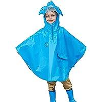 Daoba Poncho Antipioggia Bambino Impermeabile Bambina Mantella Pioggia Bimbo con Cappuccio Traspirante Leggero per I…
