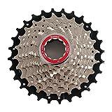 CANAVA Fahrrad 10 Geschwindigkeit Kassette Fahrradzubehör Fahrradkomponenten Teile Fit für Rennrad BMX Mountainbike MTB