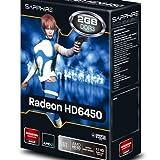 Sapphire AMD Radeon HD 6450 Grafikadapter (PCI-e, 2GB GDDR3 Speicher, DVI, HDMI) - 2