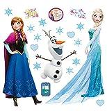 AG Design DKs 1095 Wall Sticker Disney-Autoadesivo, Carta, Multicolor, 30 x 30 cm