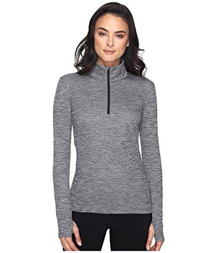 Nike Damen Lucky Azalea 1/2 Zip 3.0 Langarm Pullover, Black, M (Lucky 3 T-shirt)