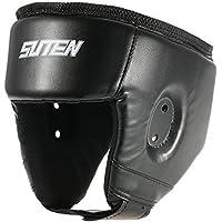 lixada Boxeo Headgear/Protector de cabeza para cajas Deportes de Lucha Boxeo Kickboxing UFC Sparring, negro