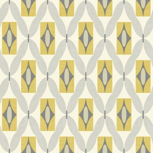 Arthouse, rotolo di carta da parati, colore: quarzo giallo, 640703