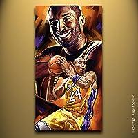 Kobe Bryant LA Lakers Nba originale decorazione