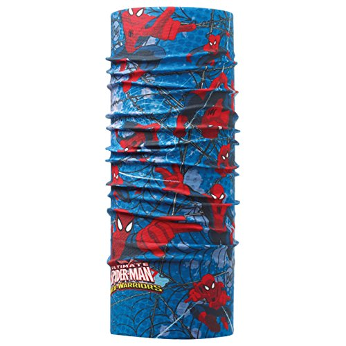 Buff Kinder Multifunktionstuch Multifunktionstuch Superheroes JR Original, Mehrfarbig -