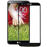 LG G2 Frontglas Ersatzglas Displayglas Screen + Werkzeug Reparaturset Scheibe schwarz
