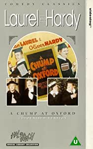 A Chump At Oxford [VHS]