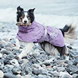 Hurtta Drizzle Coat, für kalte Wetter, 24 in, Raven