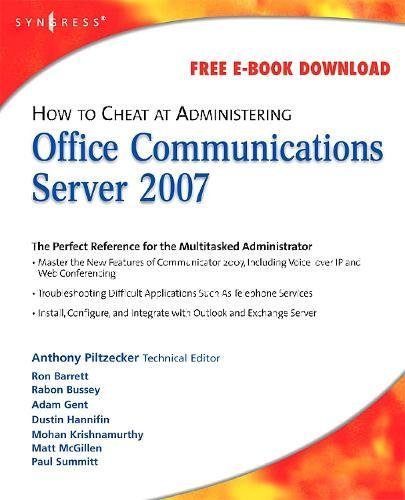How to Cheat at Administering Office Communications Server 2007 -