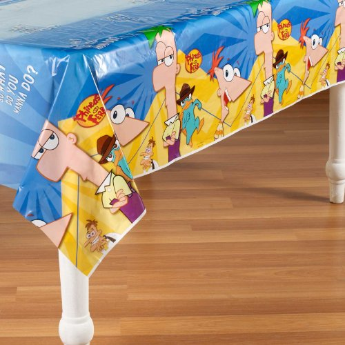Phineas and Ferb Plastic Tablecover