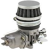 Gazechimp 1pcs 13mm Carburateur + Filtre à Air Pour 49cc 43cc Mini PIT Dirt Pocket Quad Bike ATV Motocyclette