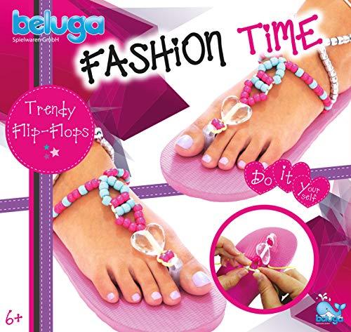Beluga Spielwaren 12428 - Fashion Time Trendy Flip-Flops Bastelset
