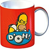 The Simpsons Homer Simpson Doh! Fine China Mug