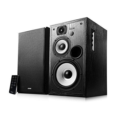 Edifier Studio R2730DB - Sistema de Altavoces con Bluetooth (136 W, con Mando a Distancia por Infrarrojos y entradas Digitales), Color Negro