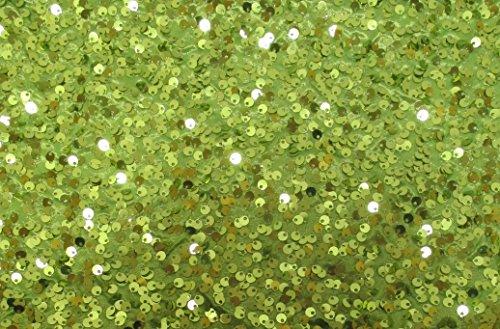(Lime Green Pailletten Tischläufer - 13