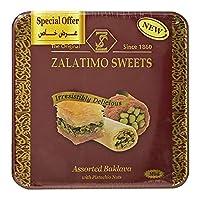 Zalatimo Mini Assorted Baklava with Pistachio Nuts - 800 gm-GI2000020002