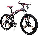 Cyrusher New Updated RT-601 Mens Mountain Bike Folding...