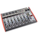 Power-Dynamics PDM L905-6-Kanal Mixer USB MIC für 48 V