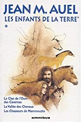 Les Enfants de la terre, tome 1 : Le Clan de l'ours des Cavernes, La Vallée des Chevaux, Les Chasseurs de mammouths