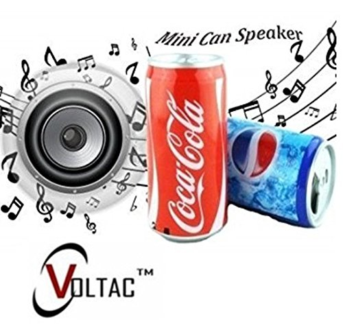 VOLTAC` ™ Bluetooth Soft Drink Design Multimedia Speaker Supported Mp3 Audio Songs Fm Radio.  available at amazon for Rs.385
