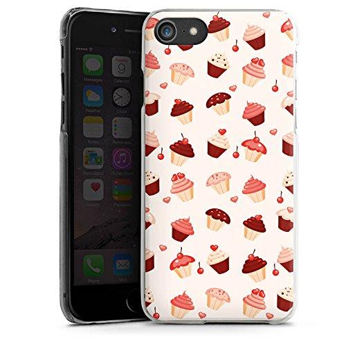Apple iPhone X Silikon Hülle Case Schutzhülle Sweet Süß Cupcake Hard Case transparent