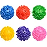 Igelball Noppenball Massageball 9cm Durchmesser ca. 95g verschiedene Farbe (Blau)