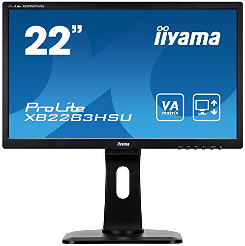 "iiyama XB2283HSU-B1DP 22"" ProLite VA HD Height Adjustable for sale  Delivered anywhere in UK"