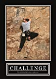 CHALLENGE Poster -ORIGINAL- Barney Stinson Poster - 7/13 - How I met your mother - Poster - Motivation Poster motivational poster challenge rock climbing klettern