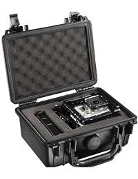 Mantona Outdoor Valise protectrice photo S (pour caméras DSLR, GoPro Actioncam, équipement photo et bien plus, imperméable, résistante aux chocs et à la poussière) noire