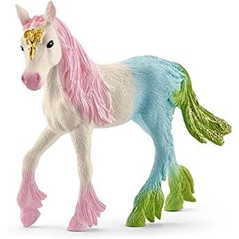 SCHLEICH 70566-BAYALA surah con glitter Pegasus-Merce Nuova