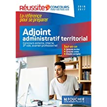 Adjoint administratif territorial - Réussite concours 2016 - 2017